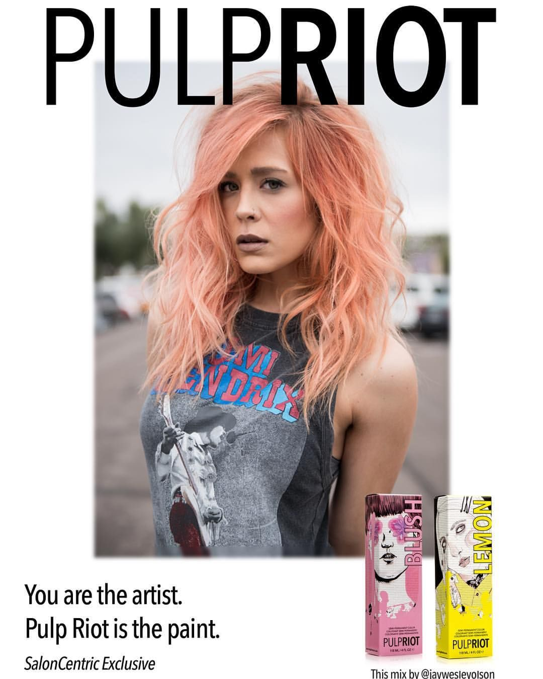 Pulp Riot Color Chart