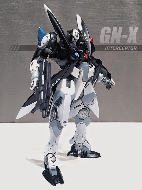 "Custom Build: MG 1/100 GN-X ""Interceptor"" - Gundam Kits Collection News and Reviews #gundam"