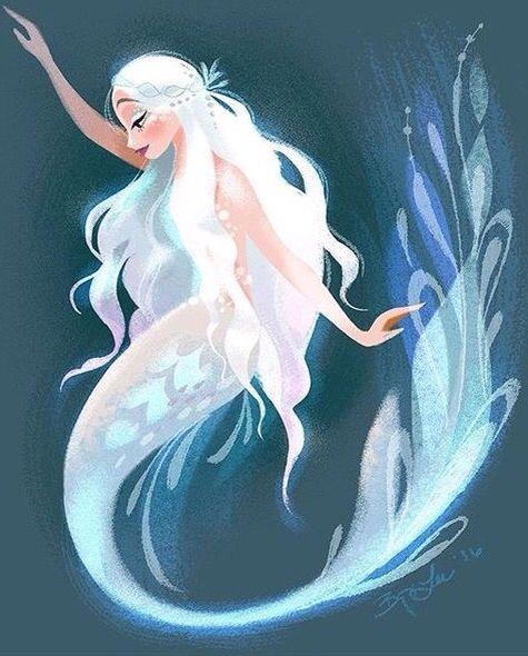 Looks Like Daenerys Mermaid Art