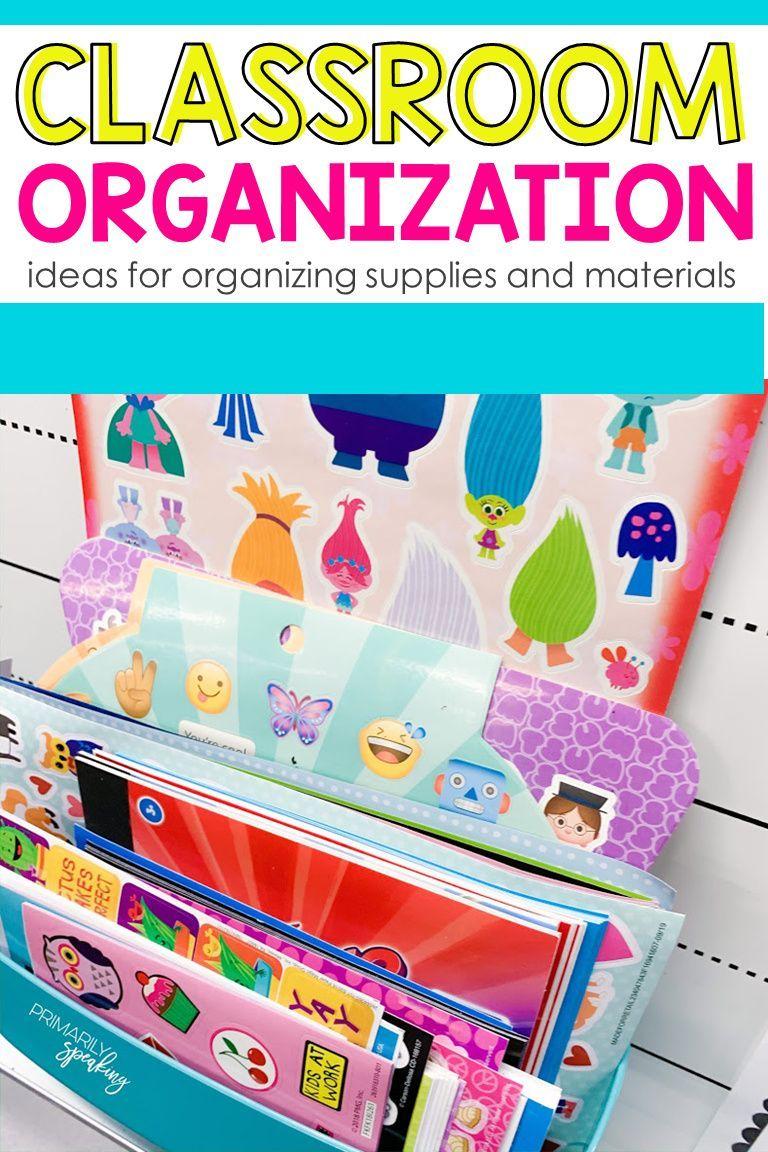 Classroom Organization Ideas Classroom Organization Classroom Creative Teaching
