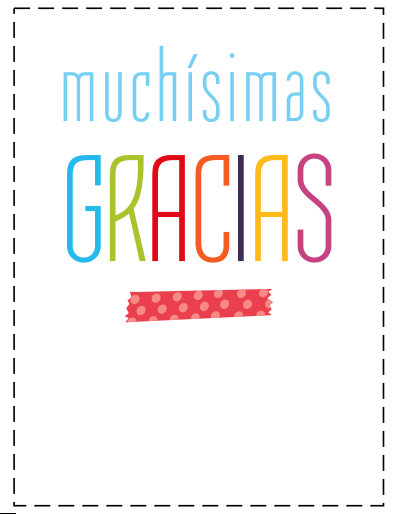 Tarjetas para dar las gracias | Aleatorio!! | Pinterest | Language ...