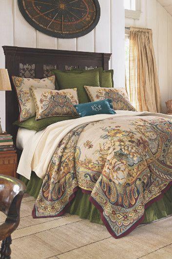 Lovely Samsara Tapestry Coverlet   French Tapestry, Plush Cotton | Soft  Surroundings