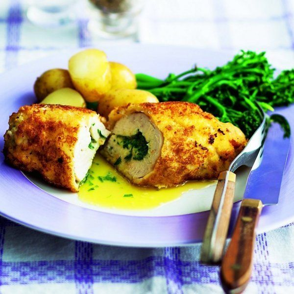 Pin by marika kondratovia on food pinterest foods this easy chicken kiev recipe is a classic it doesnt take long to make and produces garlic infused sauce inside each tender chicken breast forumfinder Image collections