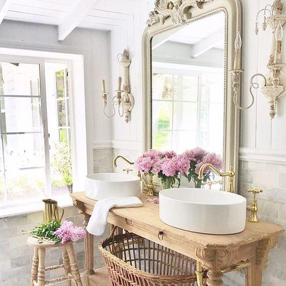 beautiful refurbished vanity bathroom pinterest vanities
