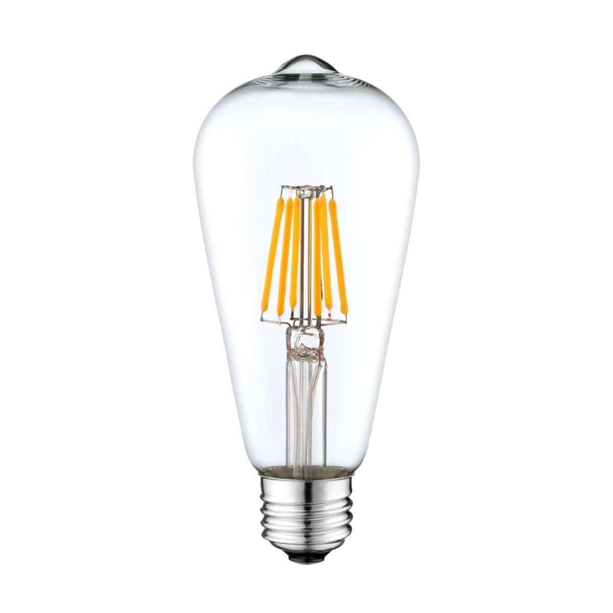 Dimmable 10 Watt Filament Led Energy Efficient Bulbs Glass Light Fixture Led Bulb