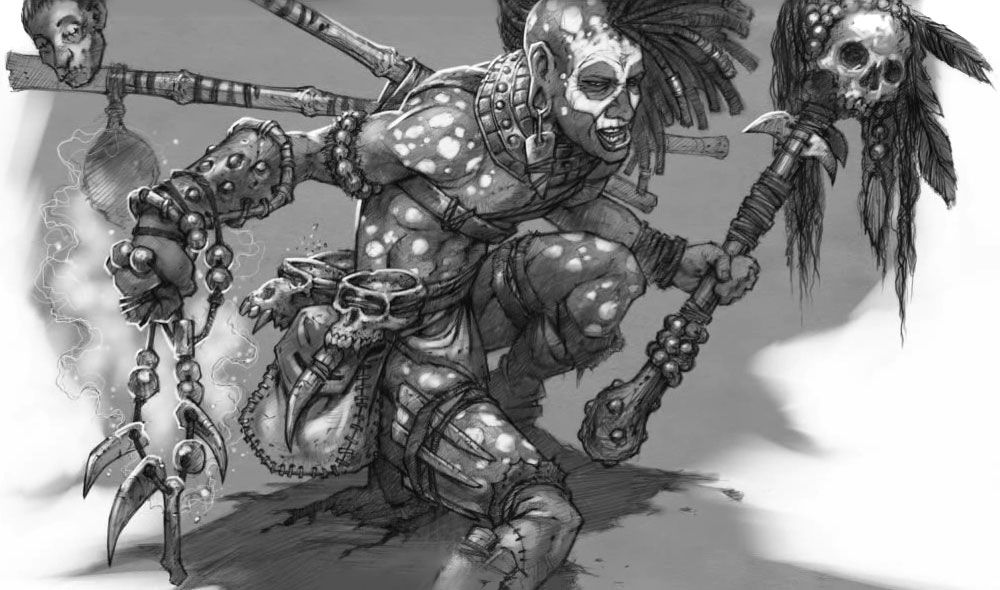 witch doctor concept from diablo iii