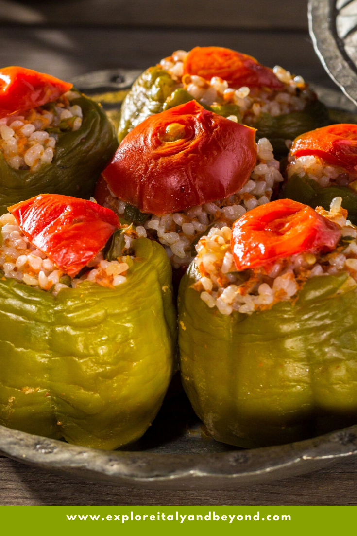 Delicious Tender Stuffed Peppers In 2020 Stuffed Peppers Stuffed Green Peppers Baked Peppers