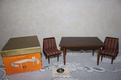 Vintage Barbie 1958 Mattel Modern Doll Furniture Mib Cm