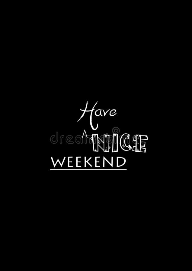 about Weekend quote design Image of template weekend