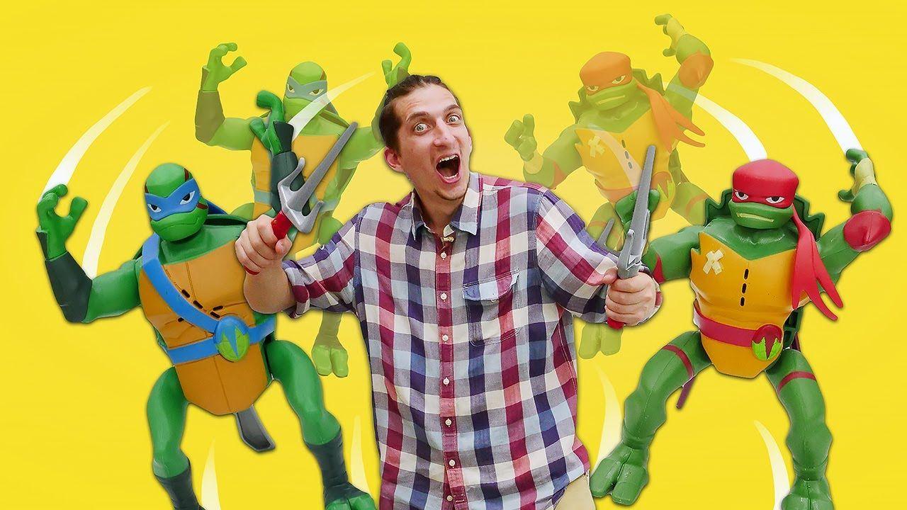 Cherepashki Nindzya Delayut Salto Raspakovka I Obzor Igrushek Dlya Malchikov Teenage Mutant Ninja Turtles Teenage Mutant Ninja Mutant Ninja Turtles