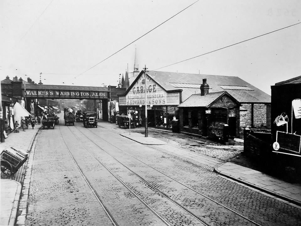 Rice Lane . Glenbank close (not there yet), I used to work in the garage , and was married in the Church on right under bridge . (St.Johns)
