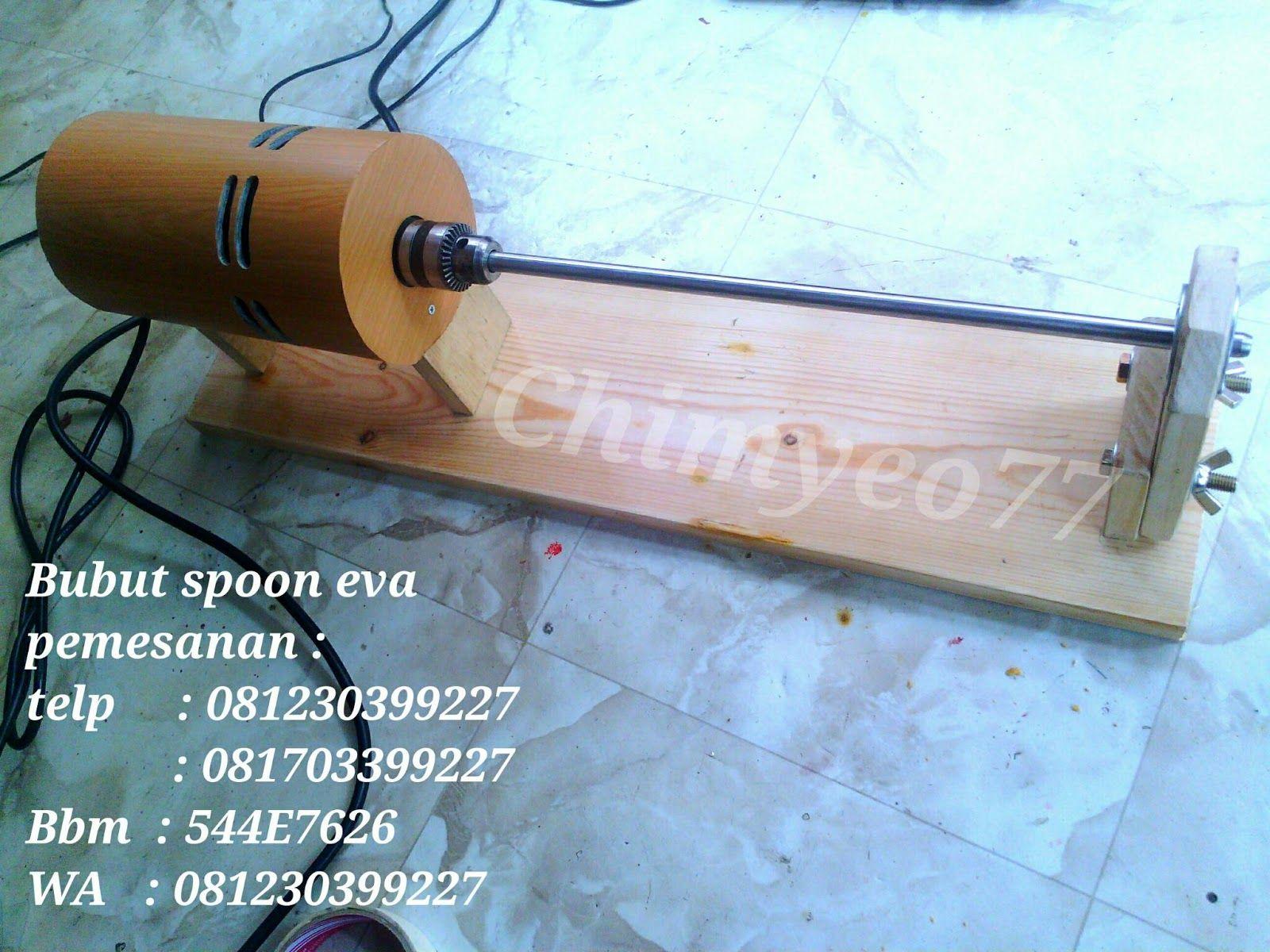Custom Rod Indonesia Bubut spoon eva Wood Lathe Bait Spoon Indonesia