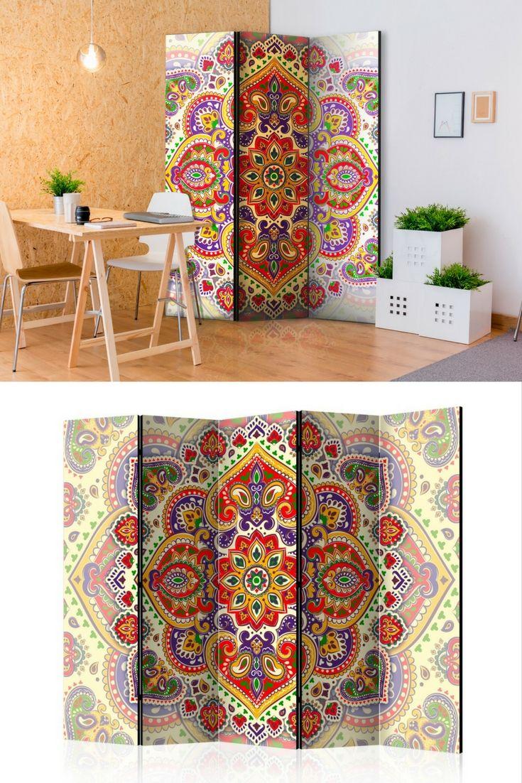 Trennwand Unusual Exoticism [Room Dividers] | Raumteiler, Wohnraum ...