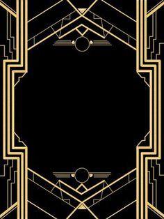Great Gatsby Invitation Template