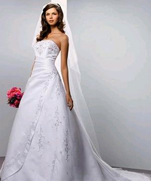 1000  images about Wedding dresses on Pinterest  Satin Illusions ...