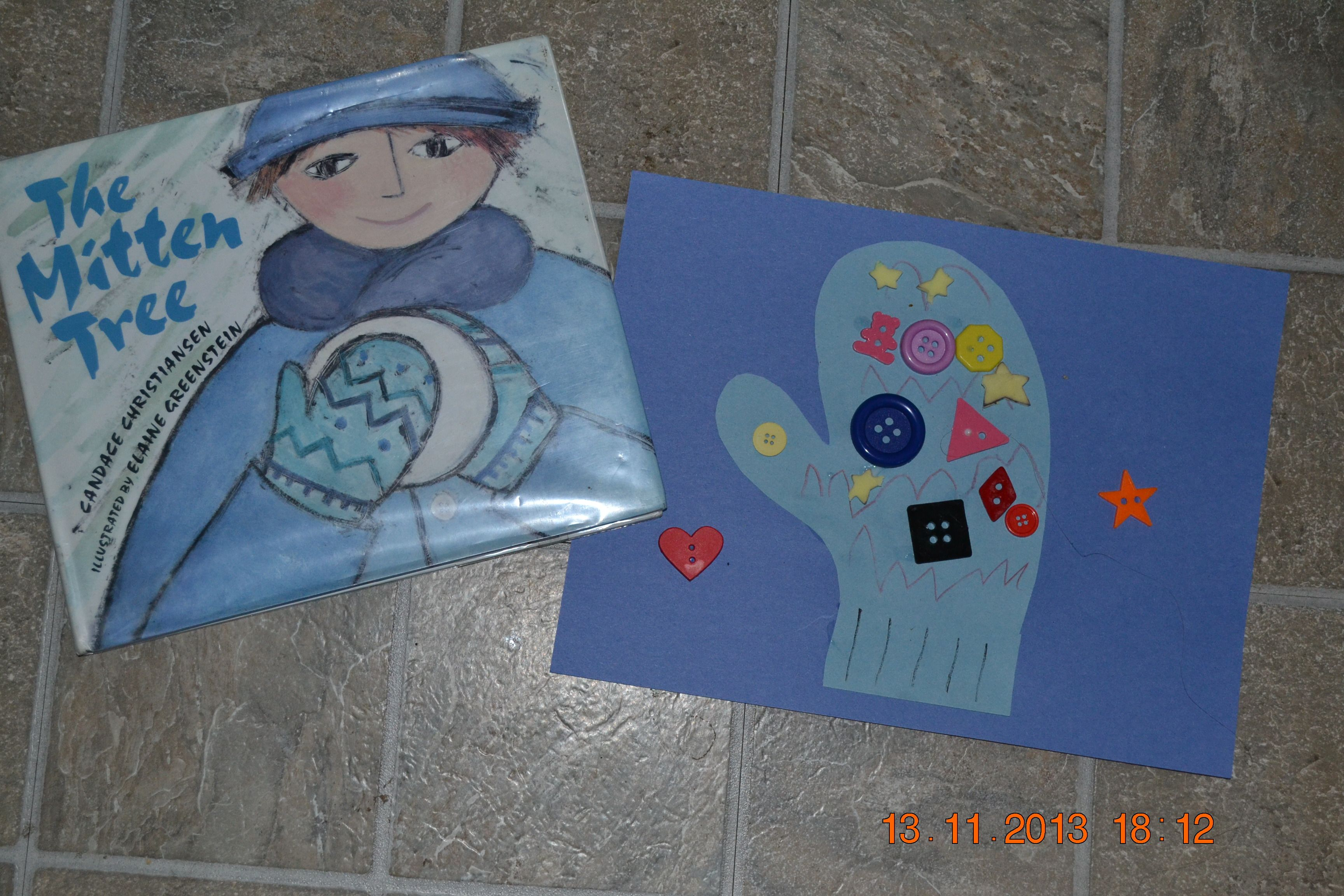 M Is For Mitten Craft To Go With The Mitten Tree Book By Candace Christiansen