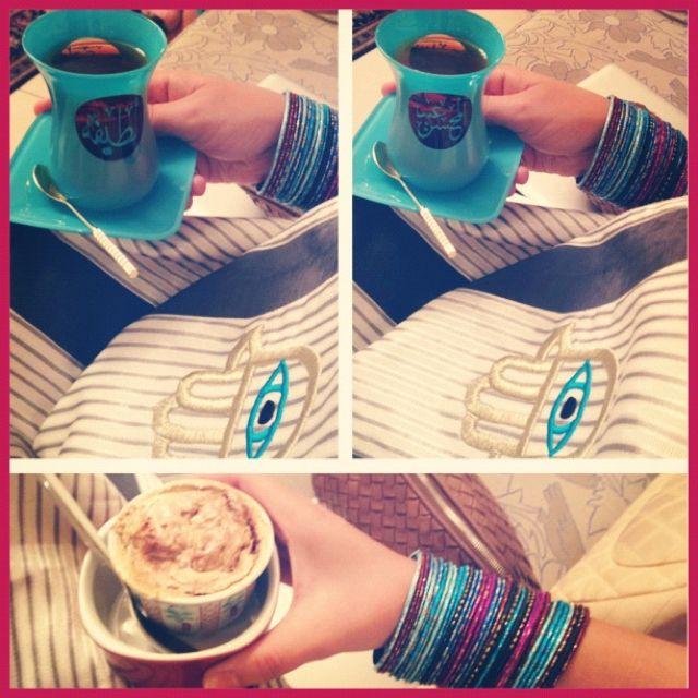 Out Tea Cup Estekana With My Parents Name Tea Cups Latte Tea