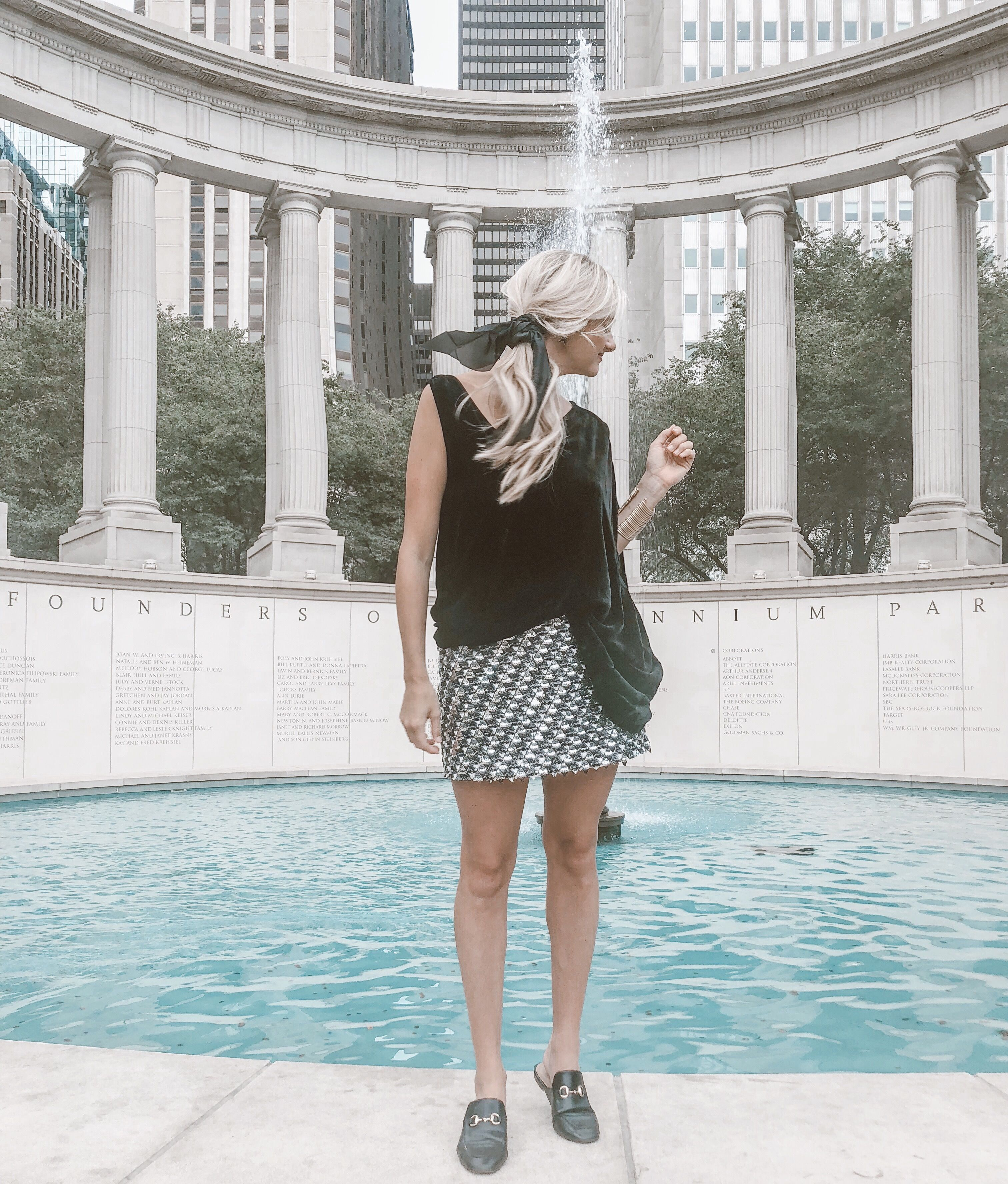 Jessi Top and Kelbie Skirt by Anna Cate Collection //
