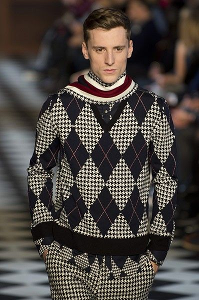 Tommy Hilfiger Men's Collection Fall 2013