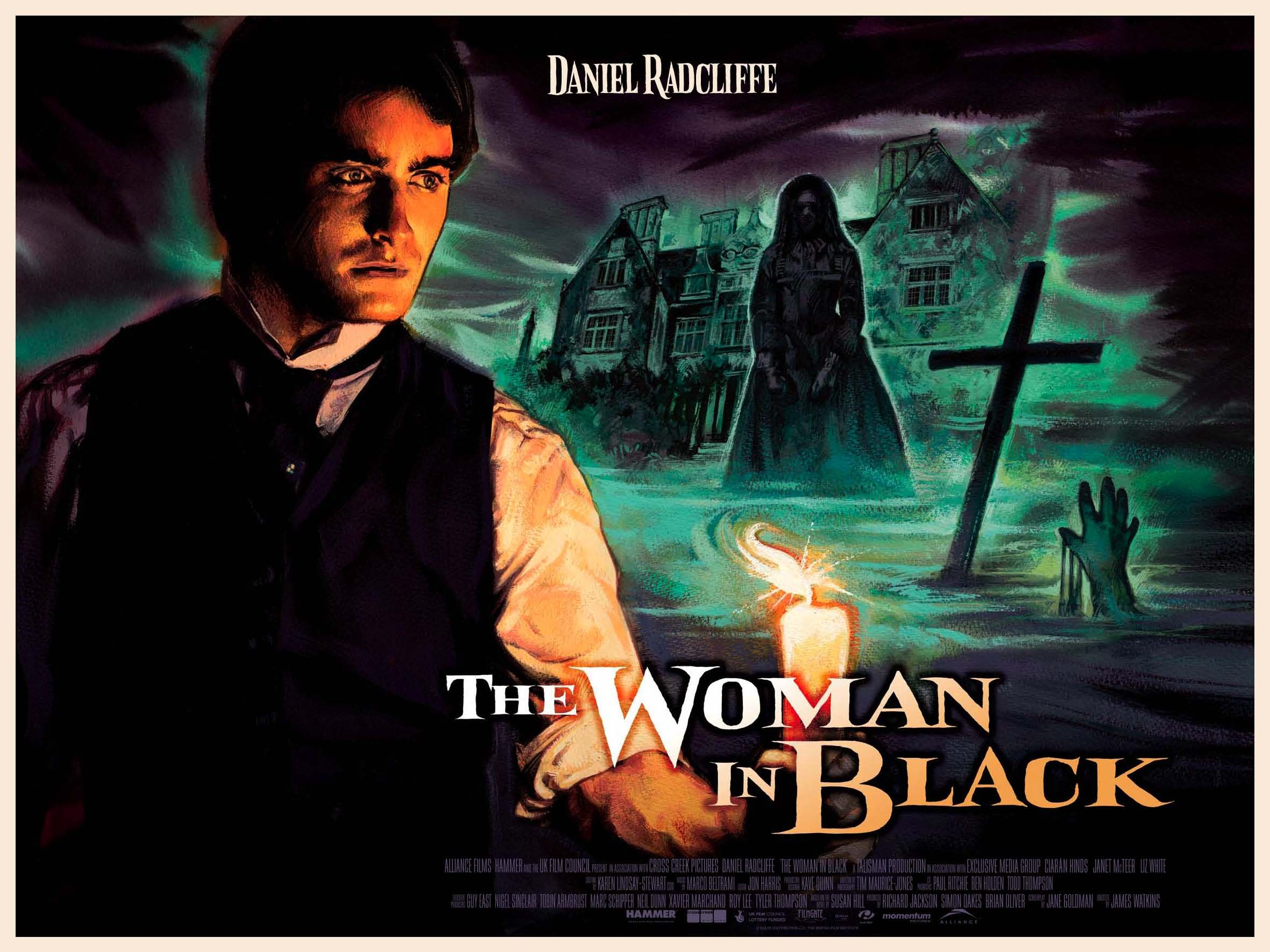The Woman In Black The Woman In Black New Poster Retro Poster