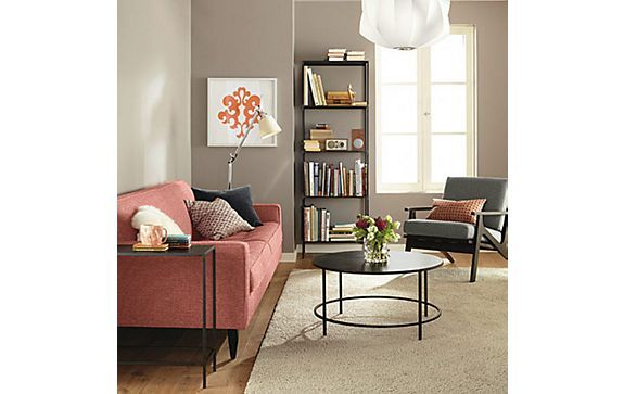 I love the chair!    Reese Sofa with Slim Accent Tables Room - Living - Room & Board