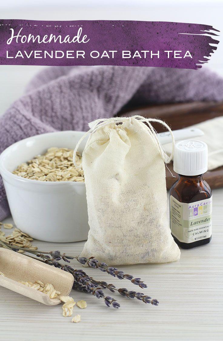 Lavender bath tea recipe