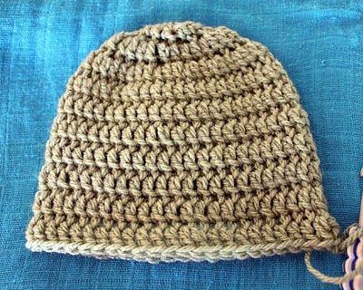 My Free Newborn Crochet Beanie Pattern | Dear Baby G | Crochet ...