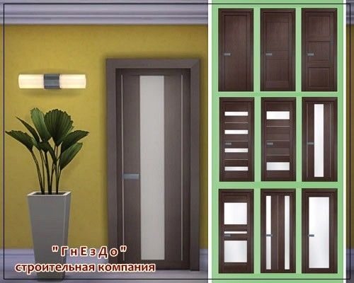 Sims 3 by Mulena Vivo Porte doors Sims 4, Sims, Sims 4