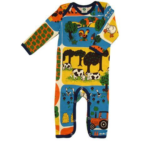 Farm Cottonsuit Romper Gender Nuetral 100 Cotton By Danish Swedish Kids Clothes Cool Baby Clothes Scandinavian Baby