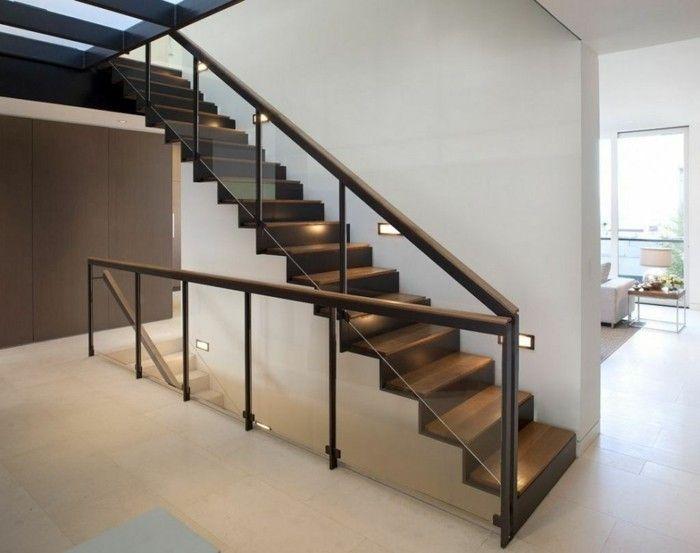 L\'escalier moderne en 110 photos magnifiques | House stairs, House ...