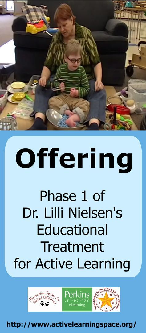 offering phase 1 of dr lilli nielsen s educational treatment for active learning