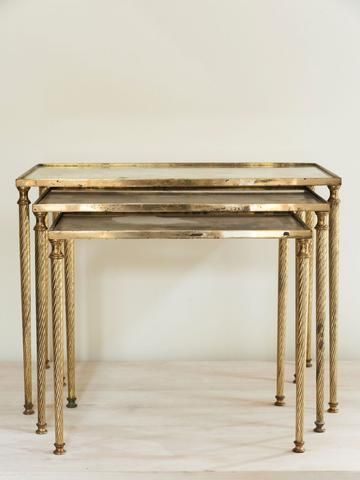 Luxury How to Decorate with Nesting Tables