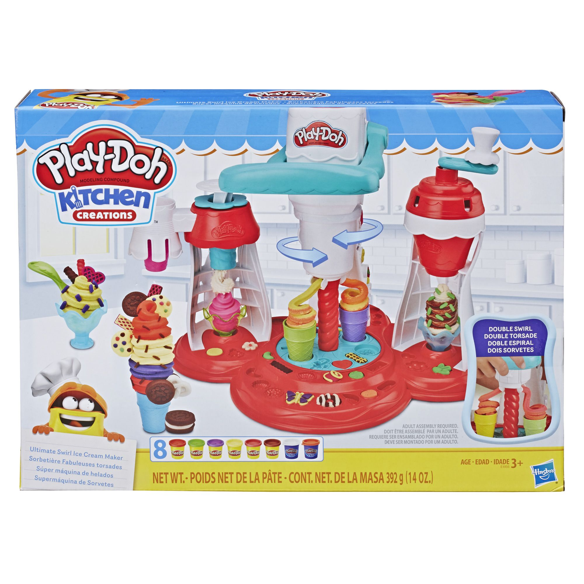 Pin By Cynthialgott On Play Doh Creations Play Doh Kitchen Play Doh Ice Cream Playset