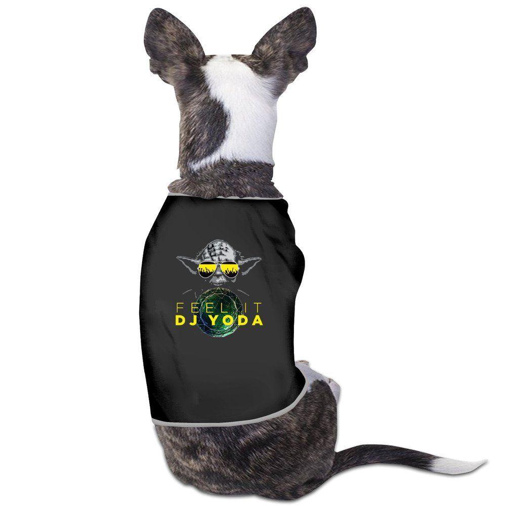 Feel It DJ Yoda Pet Dog T Shirt * Insider's special review