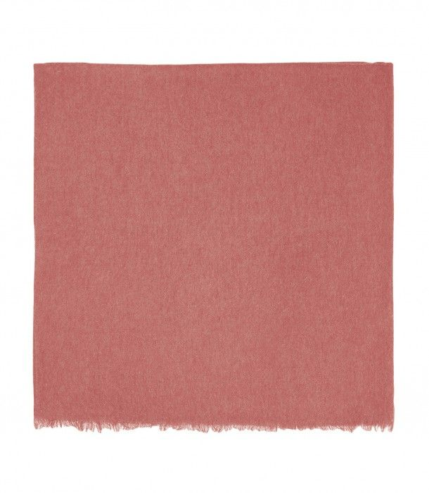 Blossom Pink Giant cashmere voile stole
