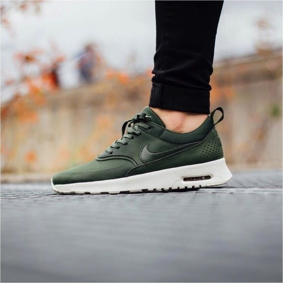 best sale a few days away best authentic Nike Air Max Thea Premium Leather Sneakers •The Nike Air Max ...