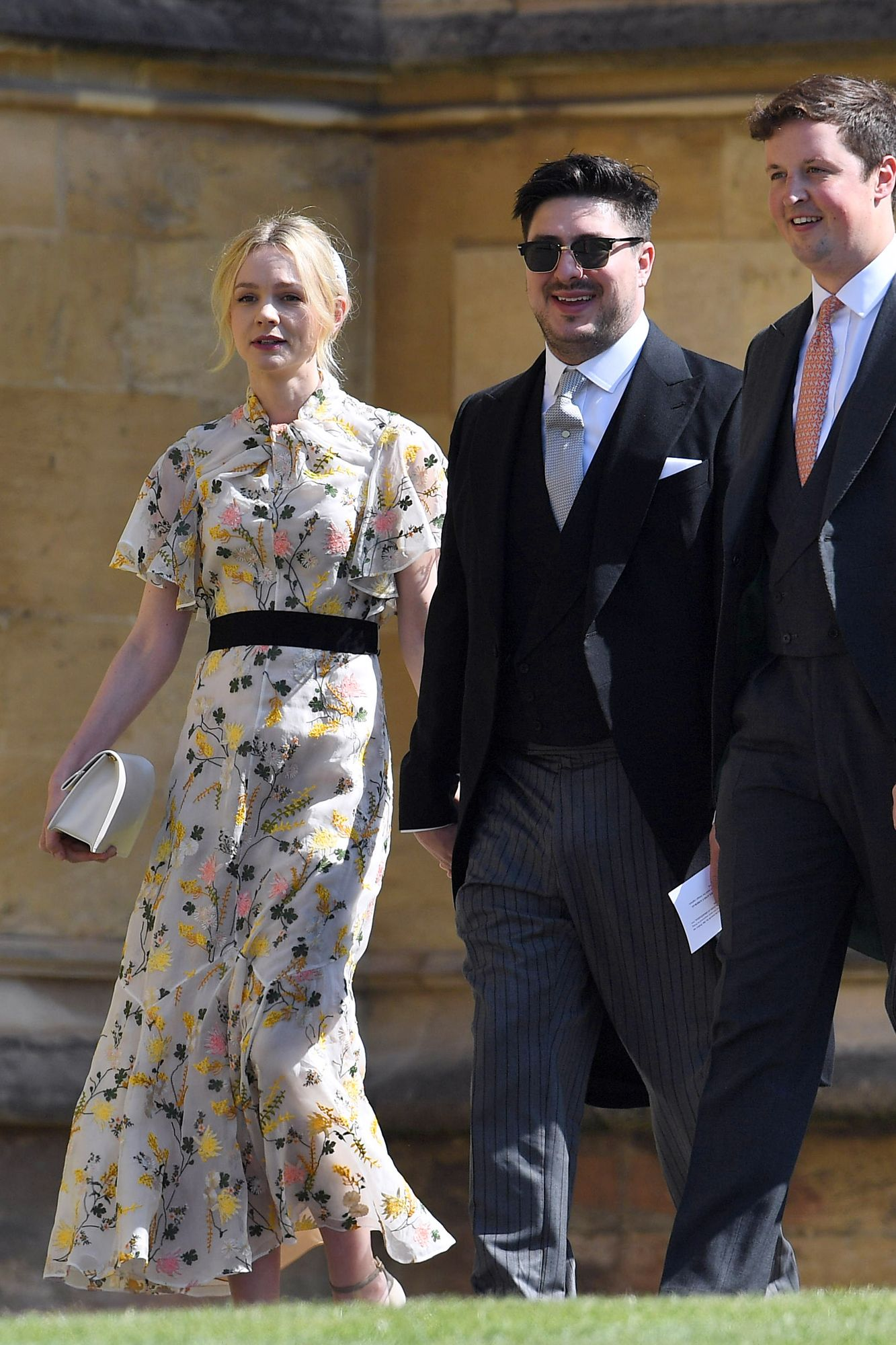 Going To The Chapel See All The Vip Guests Arriving At Harry And Meghan S Royal Wedding Guest Outfit Wedding Guest Outfit Royal Wedding [ 2000 x 1333 Pixel ]