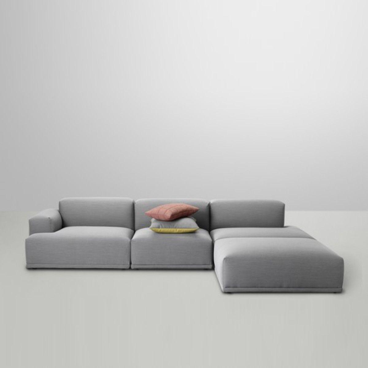 superb einfache dekoration und mobel das neue soft blocks sofa von muuto #2: Connect Sofa | Muuto | Shop