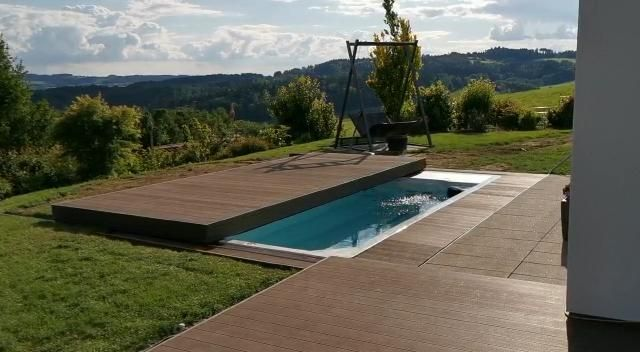 Automatic Swimspa Pool Cover Abdeckung automatisch Electric