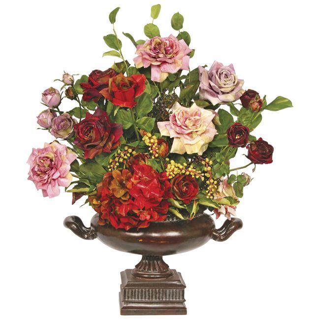 Faux floral arrangement For the Home Pinterest