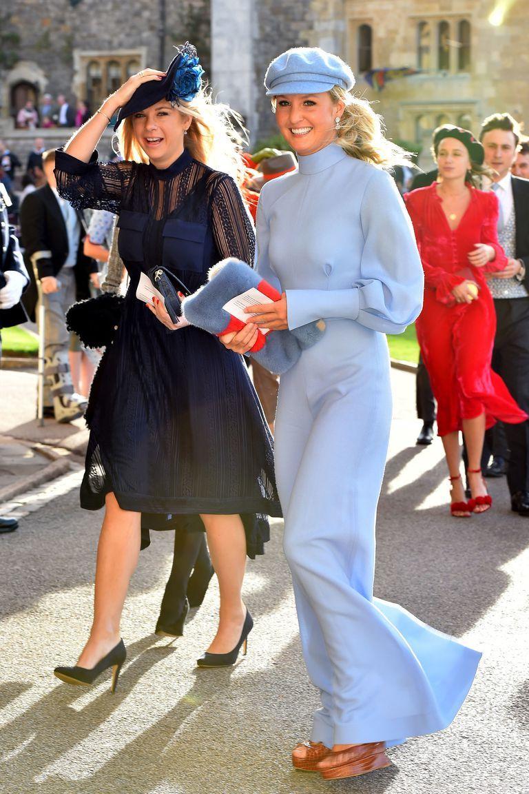 The Wedding Of Princess Eugenie Jack Brooksbank Guests Mit Bildern Prinzessin Eugenie Hochzeit Outfit Gast Coole Kleider