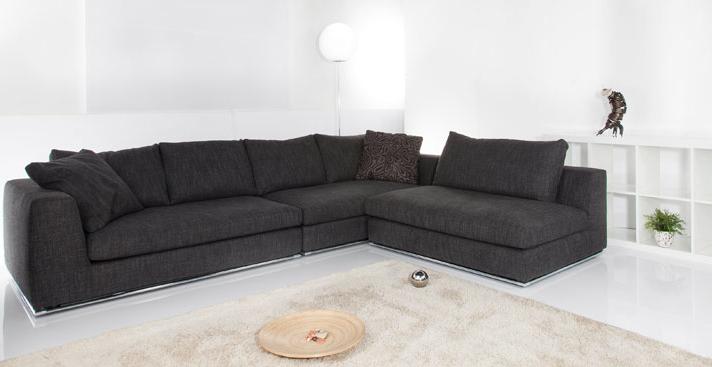 divano angolare disponibile su misura, modello oasi di tino ... - Pelle Dangolo Divano Minimalista