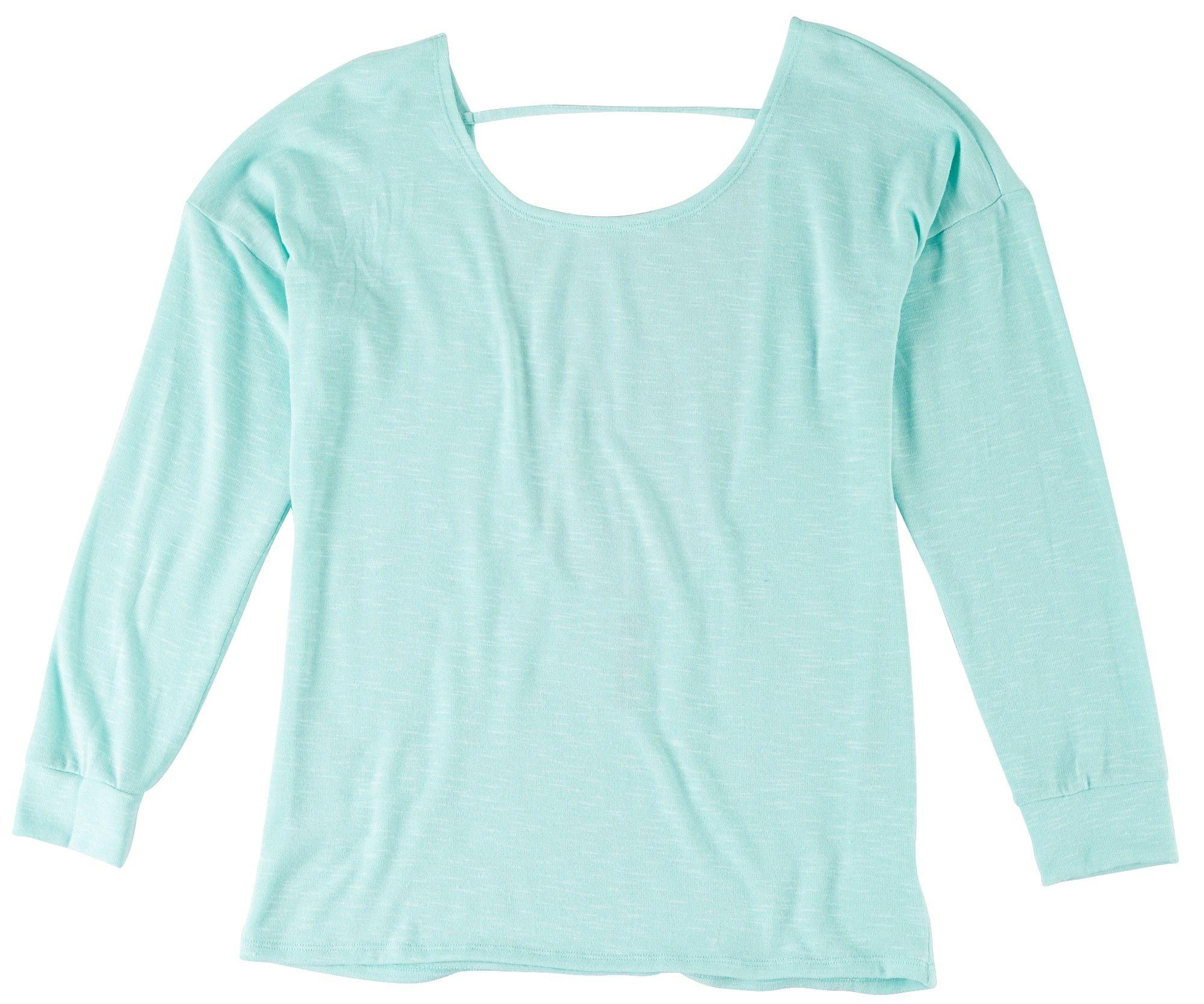 Mint green long sleeve tee beallsflorida long sleeve