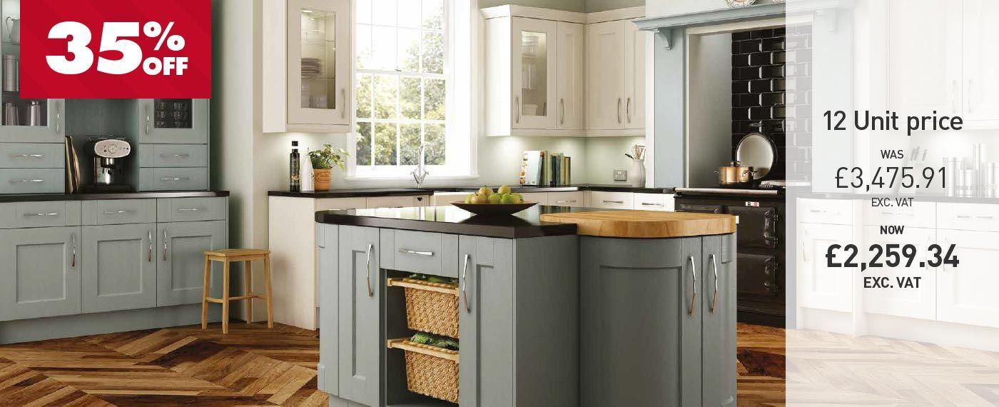 Glendale   Shaker   Jewson Kitchens   Kitchen, Shaker kitchen, Home