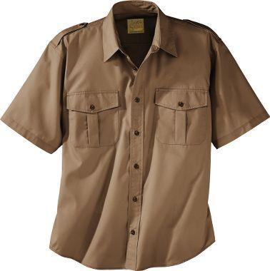 Cabela S Short Sleeve 65 35 Polyester Cotton Safari Shirt Tall Men S Safari Shirts Men S Casual Shirts Men S Cas Shirts Casual Shirts For Men Work Shirts