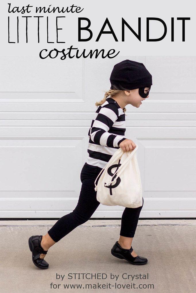 STITCHED by Crystal: Little Bandit Costume #deguisementfantomeenfant