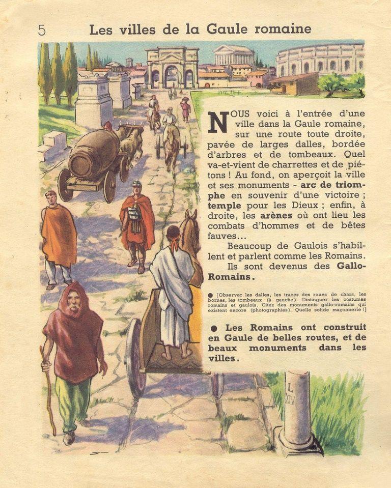 Chaulanges Premieres Images D Histoire De France 1965 Grandes Images Histoire En Images Histoire De France Histoire