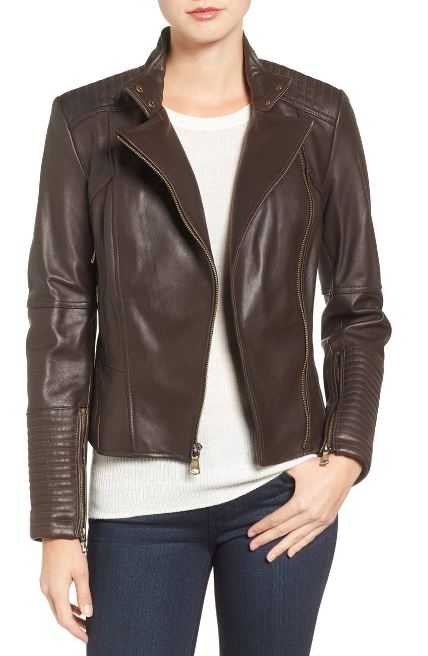 Pin By Celestine Little On Awesome Leather Jackets Leather Jacket Leather Waistcoat Jackets [ 1318 x 860 Pixel ]