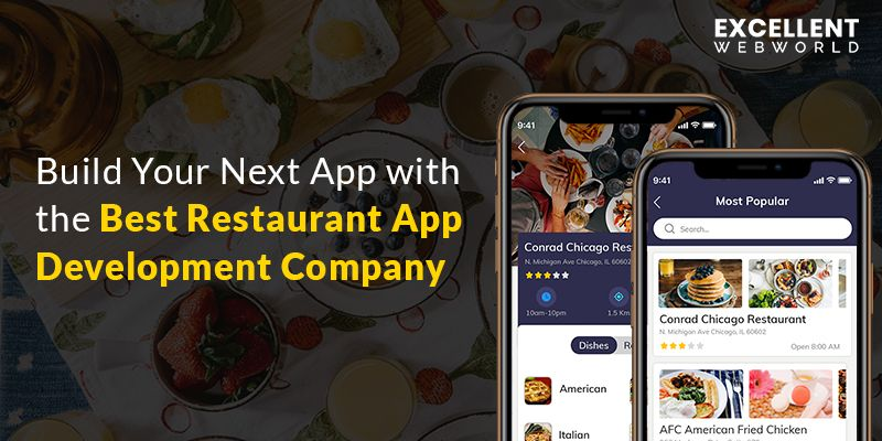 Top Restaurant Mobile App Provider Company App