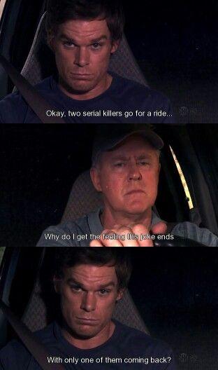Dexter Dexter Dexter Quotes Dexter Morgan